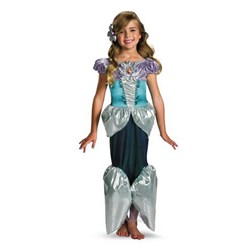 Disney Princess - Ariel Lameacute Deluxe Toddler / Child Costume