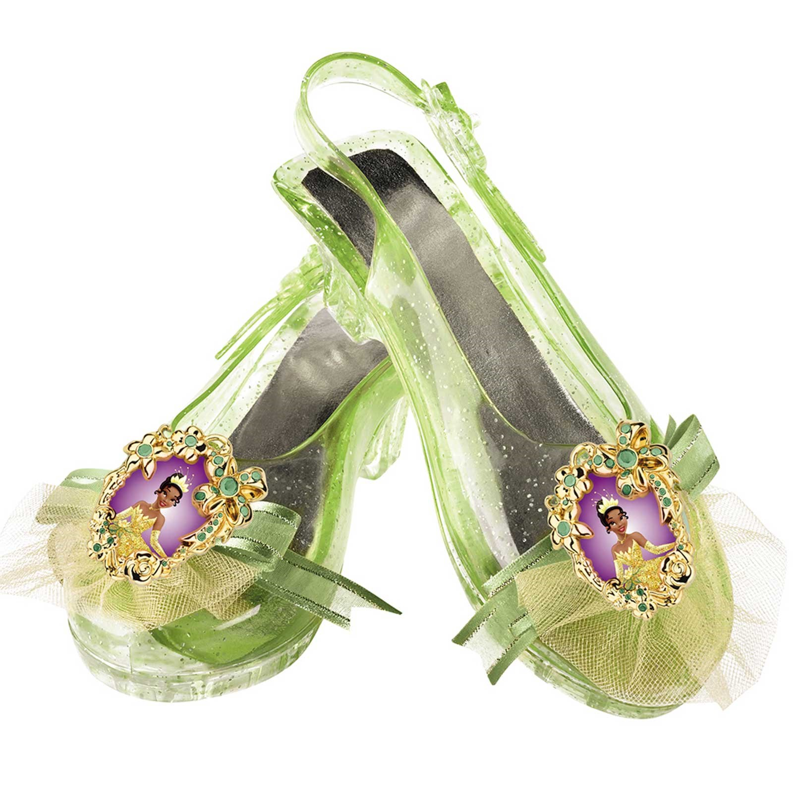 Disney Princess Tiana Kids Sparkle Shoes