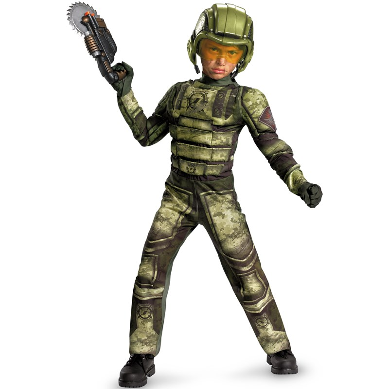 Foot Soldier Muscle Child Costume for the 2014 Costume season.