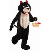 Wolf Mascot Adult Costume