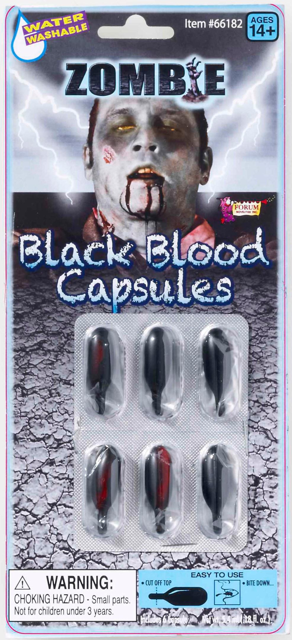 Image of Black Blood Caps