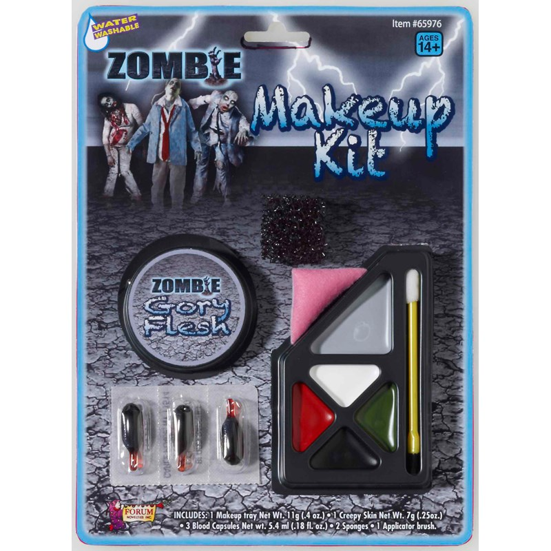 Zombie Make Up Kit for the 2015 Costume season.