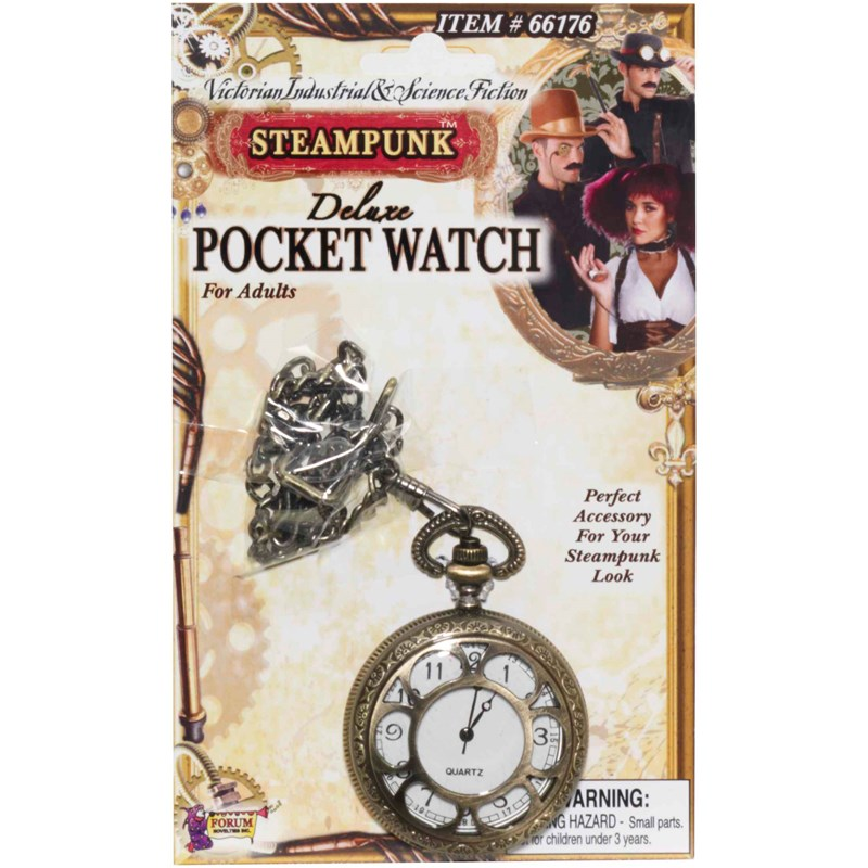 Steampunk Deluxe Pocket Watch for the 2015 Costume season.