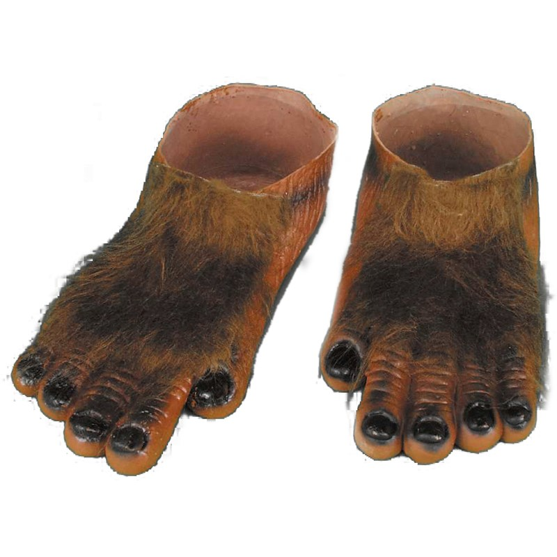 Werewolf Brown Hairy Feet Adult for the 2015 Costume season.