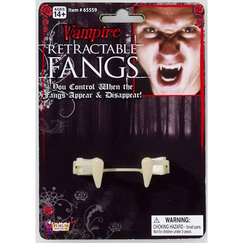 Retractable Vampire Fangs Adult