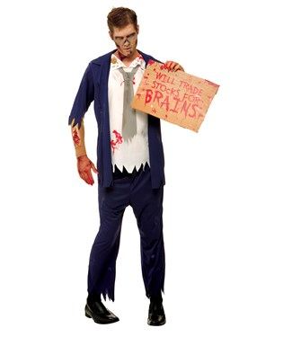 Wall St. Zombie Adult Costume