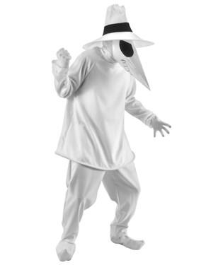Spy Vs. Spy White Spy Adult Costume