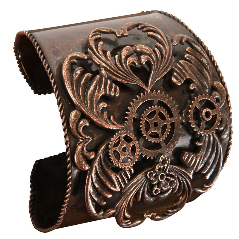 Steampunk Antique Copper Bracelet Adult for the 2015 Costume season.
