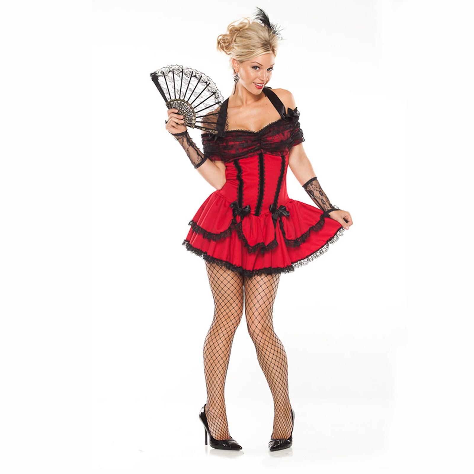 Seductive Saloon Girl Adult Costume