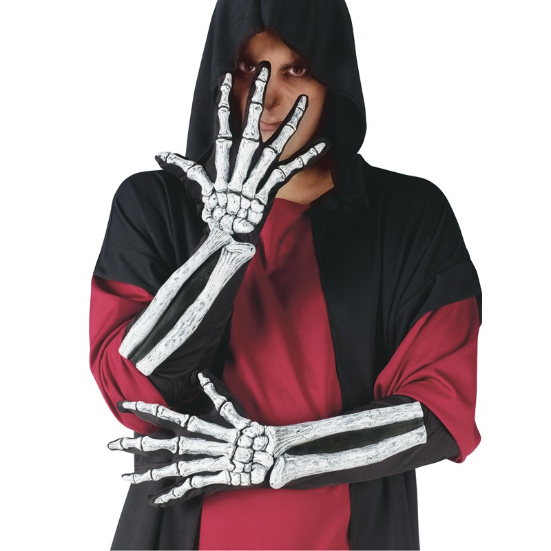 Skeleton Glove And Wrist Bone Gloves (Adult) for the 2015 Costume season.