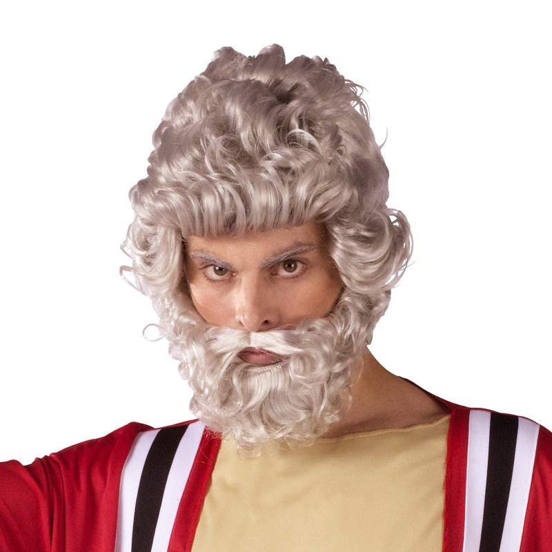 Moses Wig And Beard Set (Adult) for the 2015 Costume season.