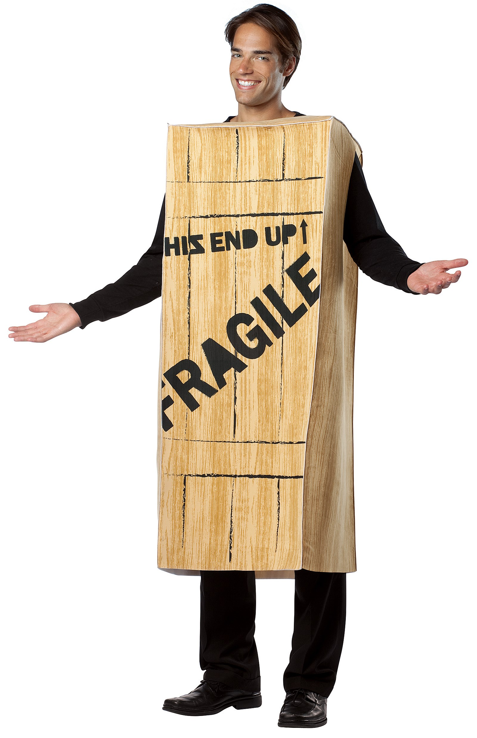 Image of A Christmas Story - Fragile Wooden Crate Adult Costume