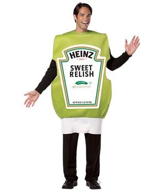 Heinz Relish Squeeze Bottle Adult Costume
