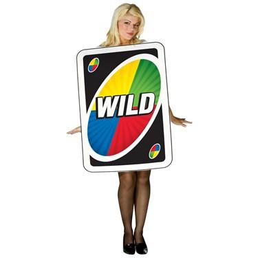 Uno - Wild Card Adult Costume