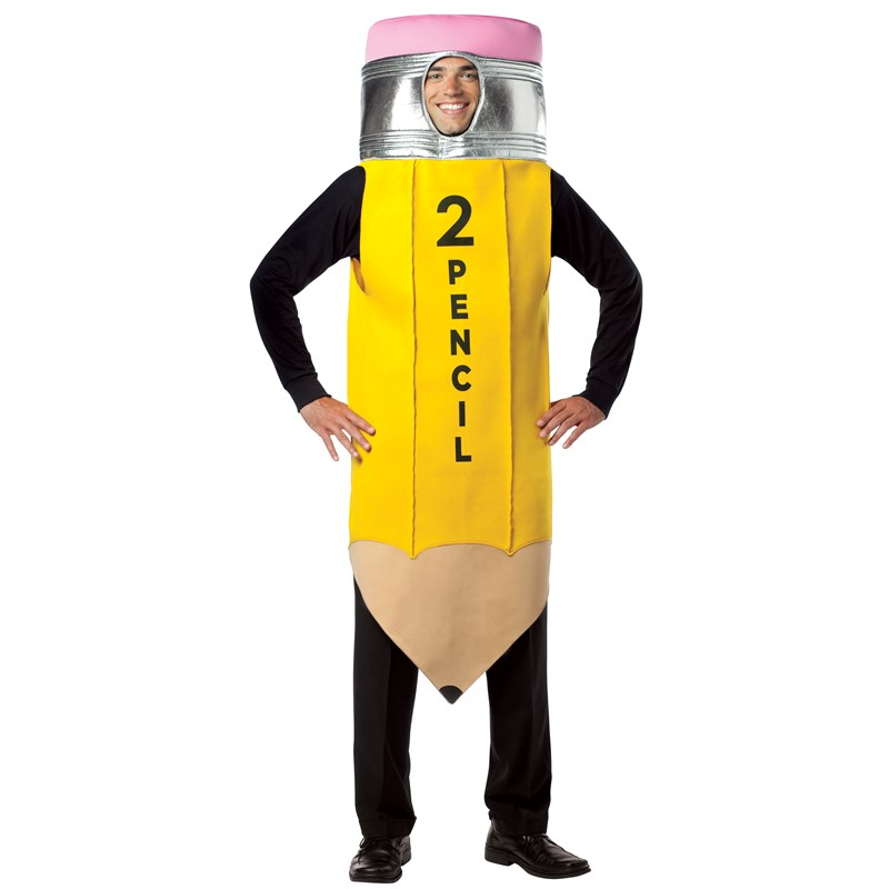 2 Pencil Adult Costume for the 2015 Costume season.