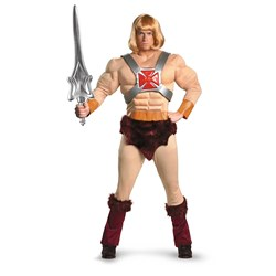 Masters Of The Universe - He-Man Adult Costume