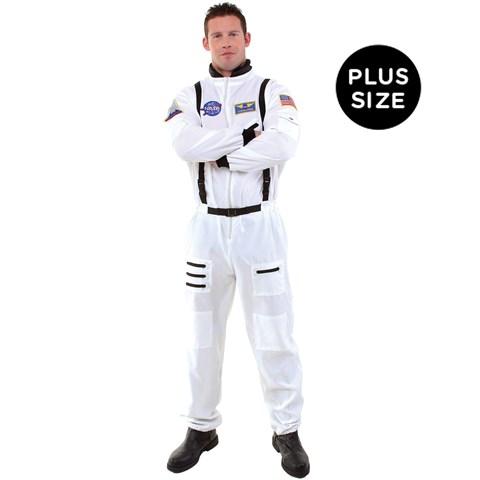Astronaut Adult Plus Costume