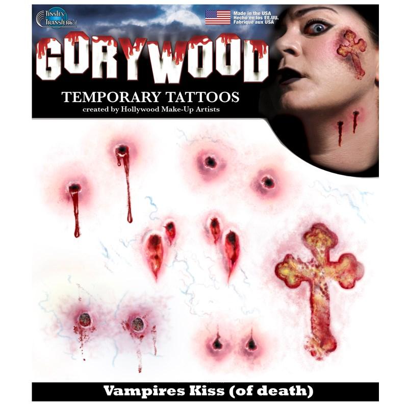 Vampires Kiss Tattoos for the 2015 Costume season.