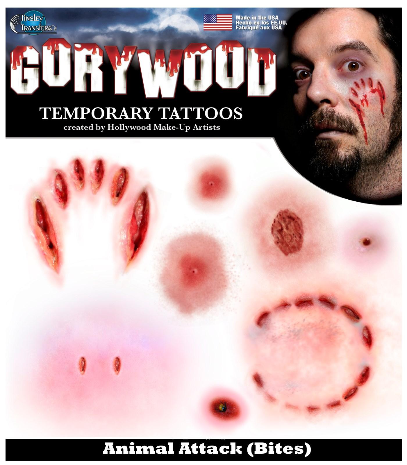 Image of Animal Attack Tattoos