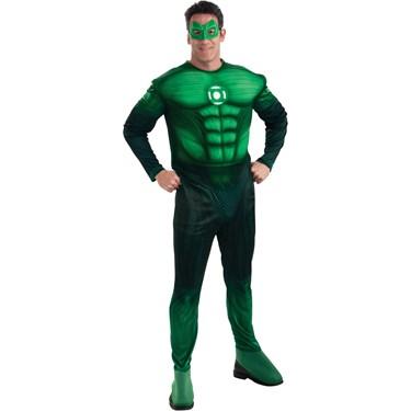 Green Lantern Movie - Deluxe Hal Jordan Adult Costume