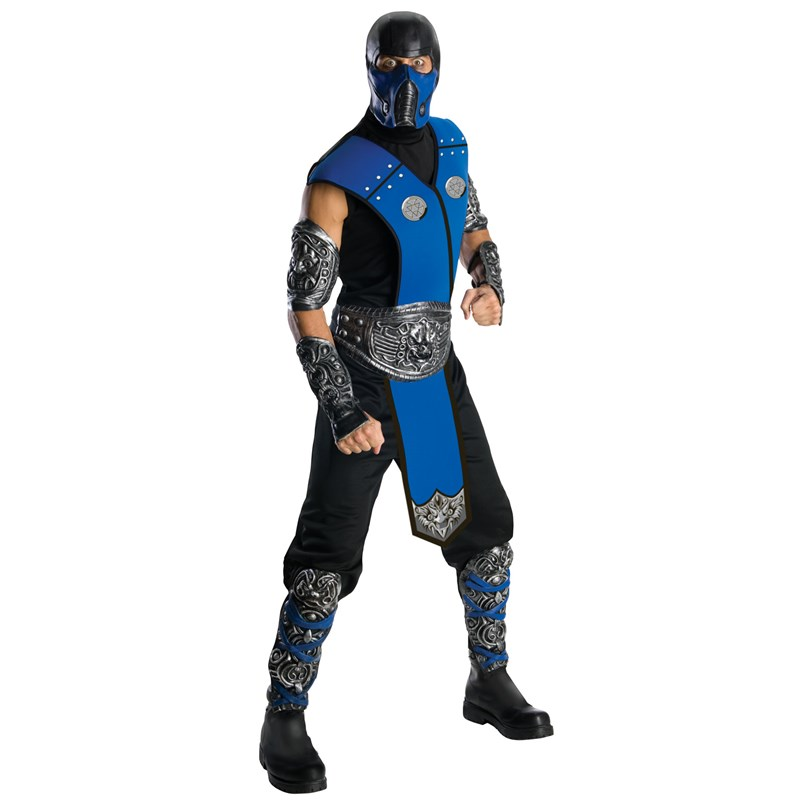 Mortal Kombat   Subzero Deluxe Adult Costume for the 2015 Costume season.