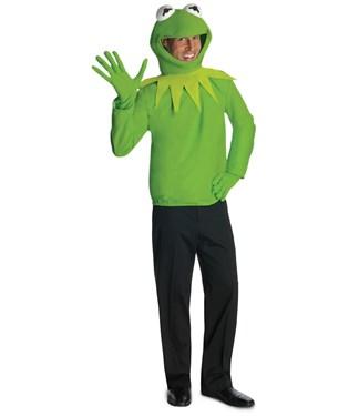 The Muppets - Kermit Adult Costume Kit