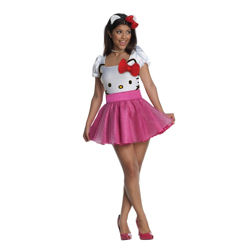 Hello Kitty Adult Costume for the 2015 Costume season.