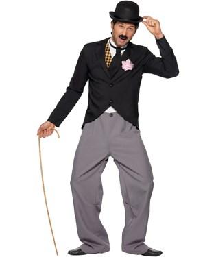 20s Film Star: Charlie Chaplin Adult Costume