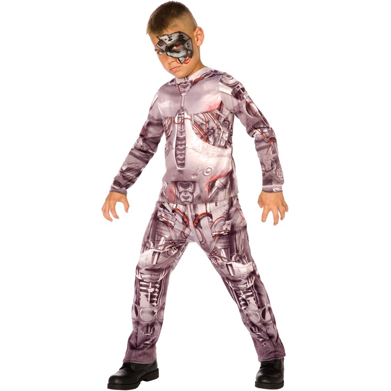 Cyborg Child Costume for the 2015 Costume season.