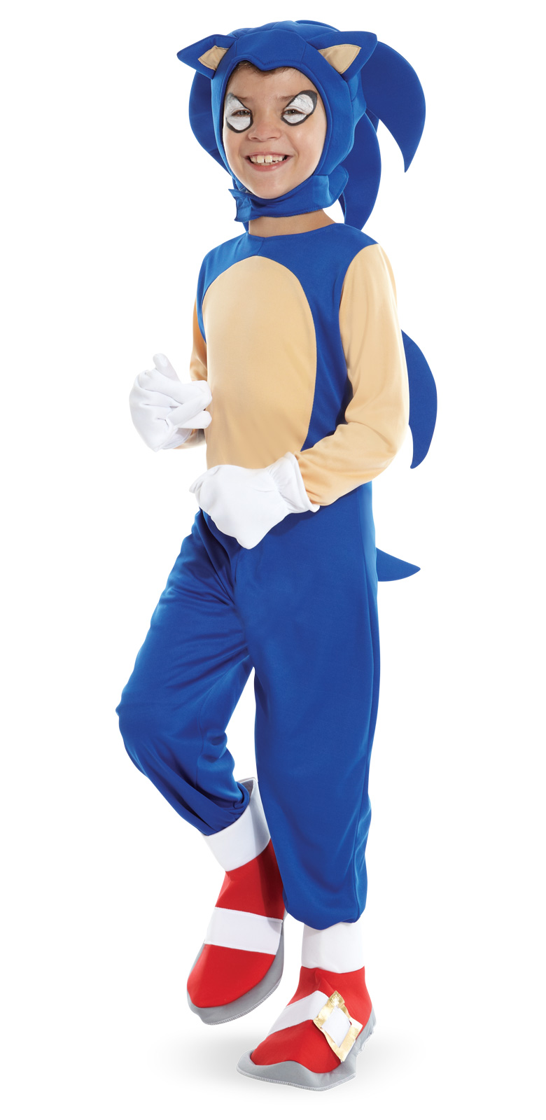 Sonic The Hedgehog Halloween Costume Child Boys Girls Size  sc 1 st  Meningrey : sonic costume for girls  - Germanpascual.Com