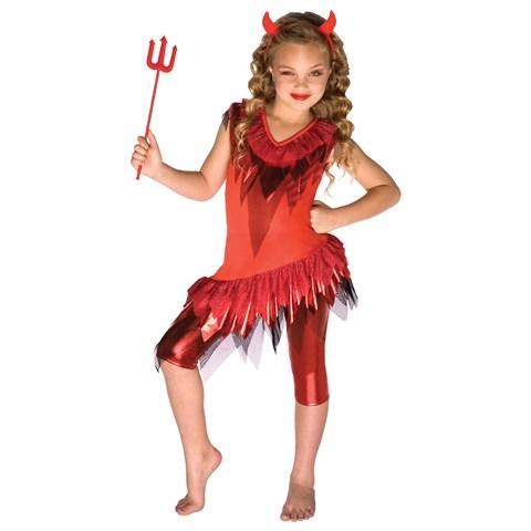 Red Devil Child Costume