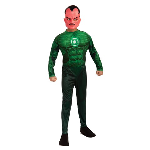 Green Lantern - Sinestro Muscle Child Costume
