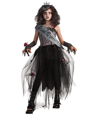 Goth Prom Queen Child Costume