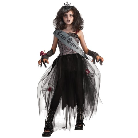 Goth Prom Queen Child Costume