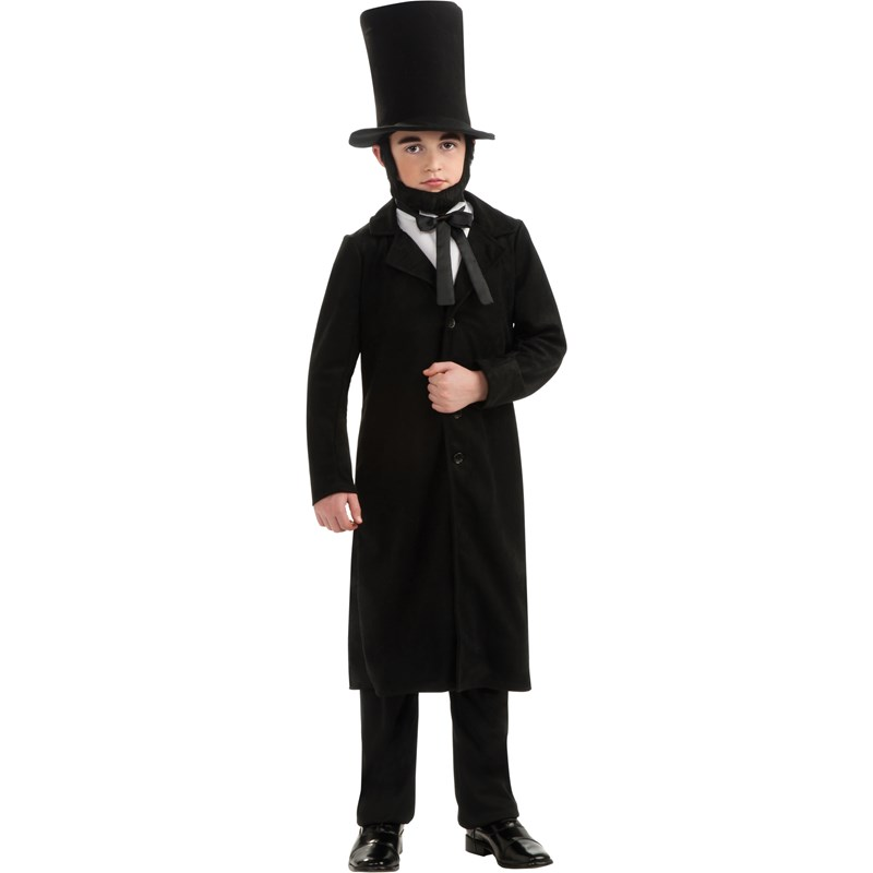 Abraham Lincoln Child Costume for the 2015 Costume season.