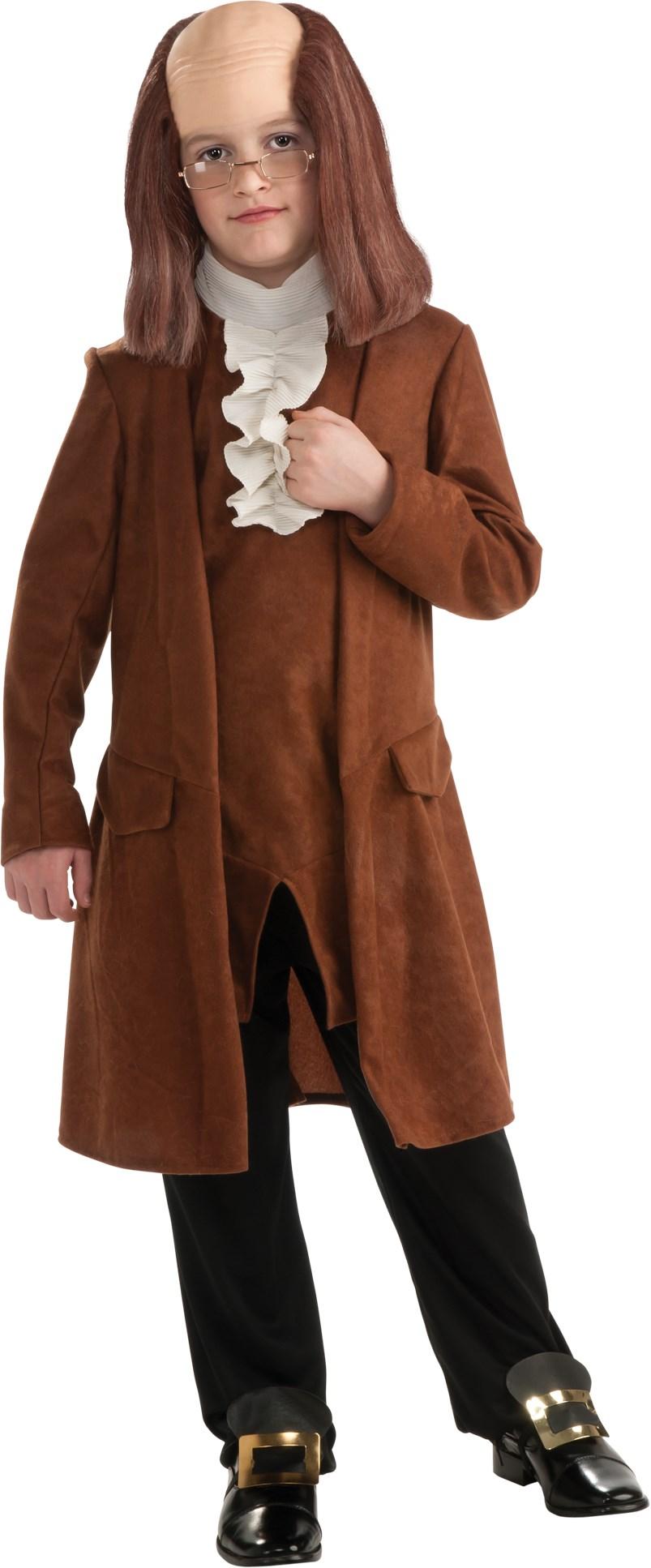 Image of Benjamin Franklin Child Costume