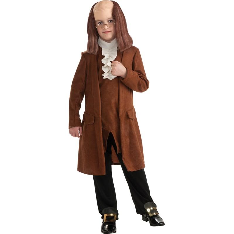 Benjamin Franklin Child Costume for the 2015 Costume season.