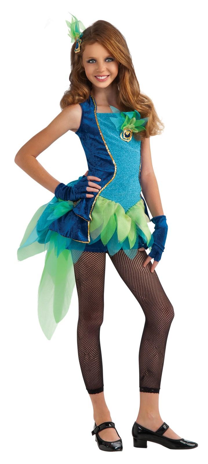 Peacock Tween Costume