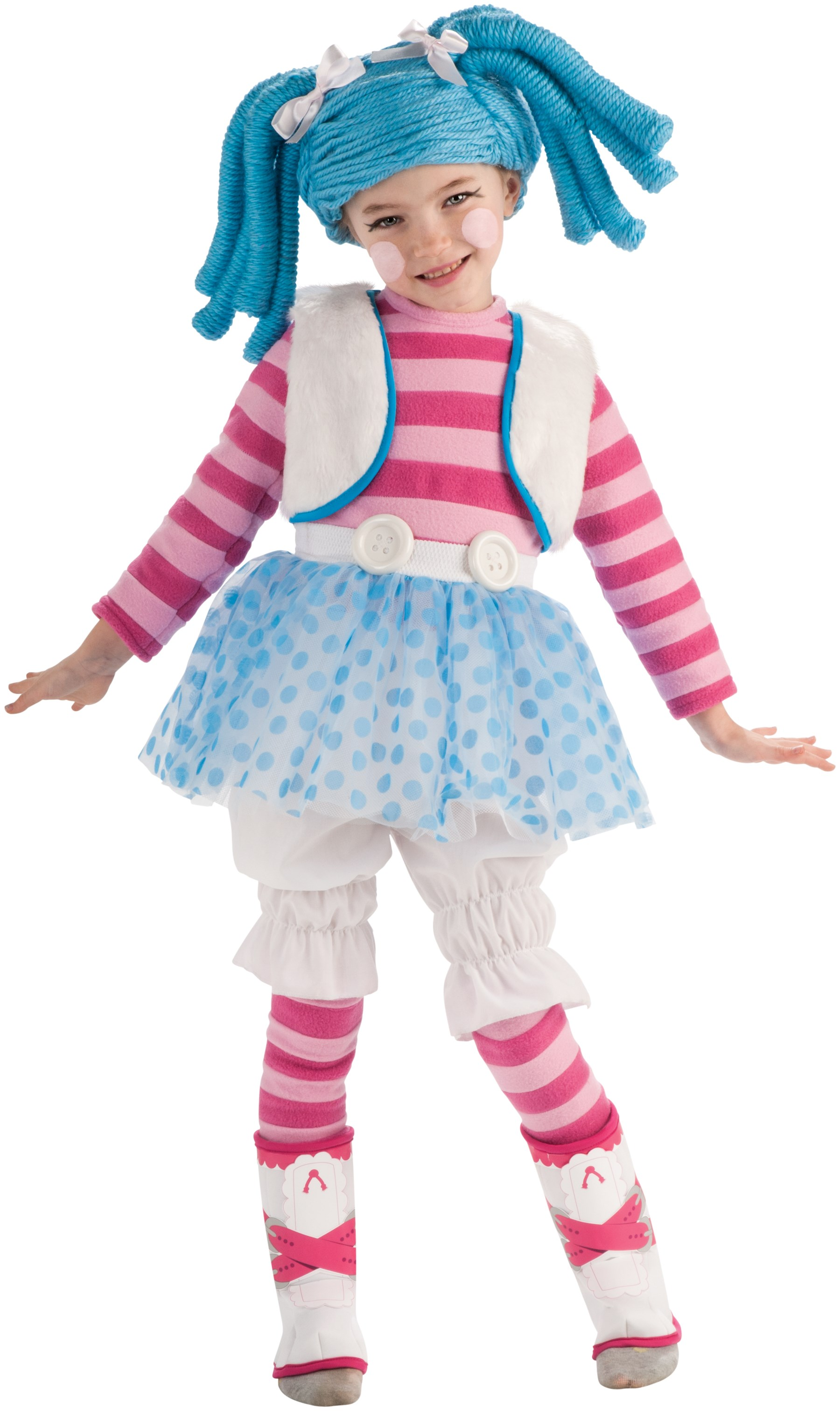 Lalaloopsy - Mittens Fluff N Stuff Doll Toddler / Child Costume