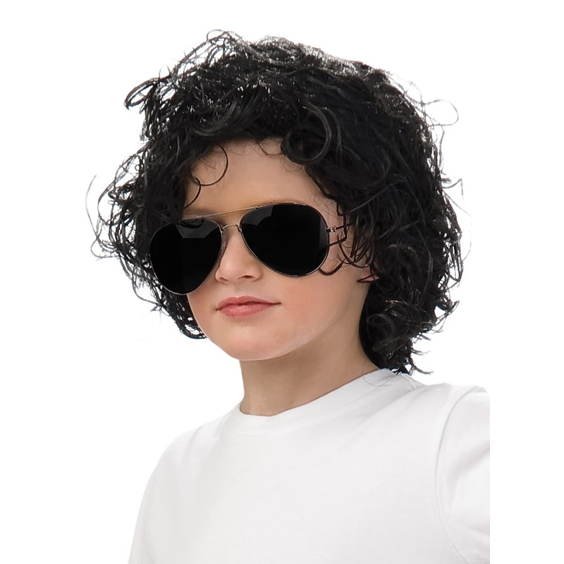 Michael Jackson Curly Wig (Child) for the 2015 Costume season.