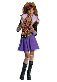Click Here to buy Monster High - Clawdeen Wolf Kids Costume from BuyCostumes