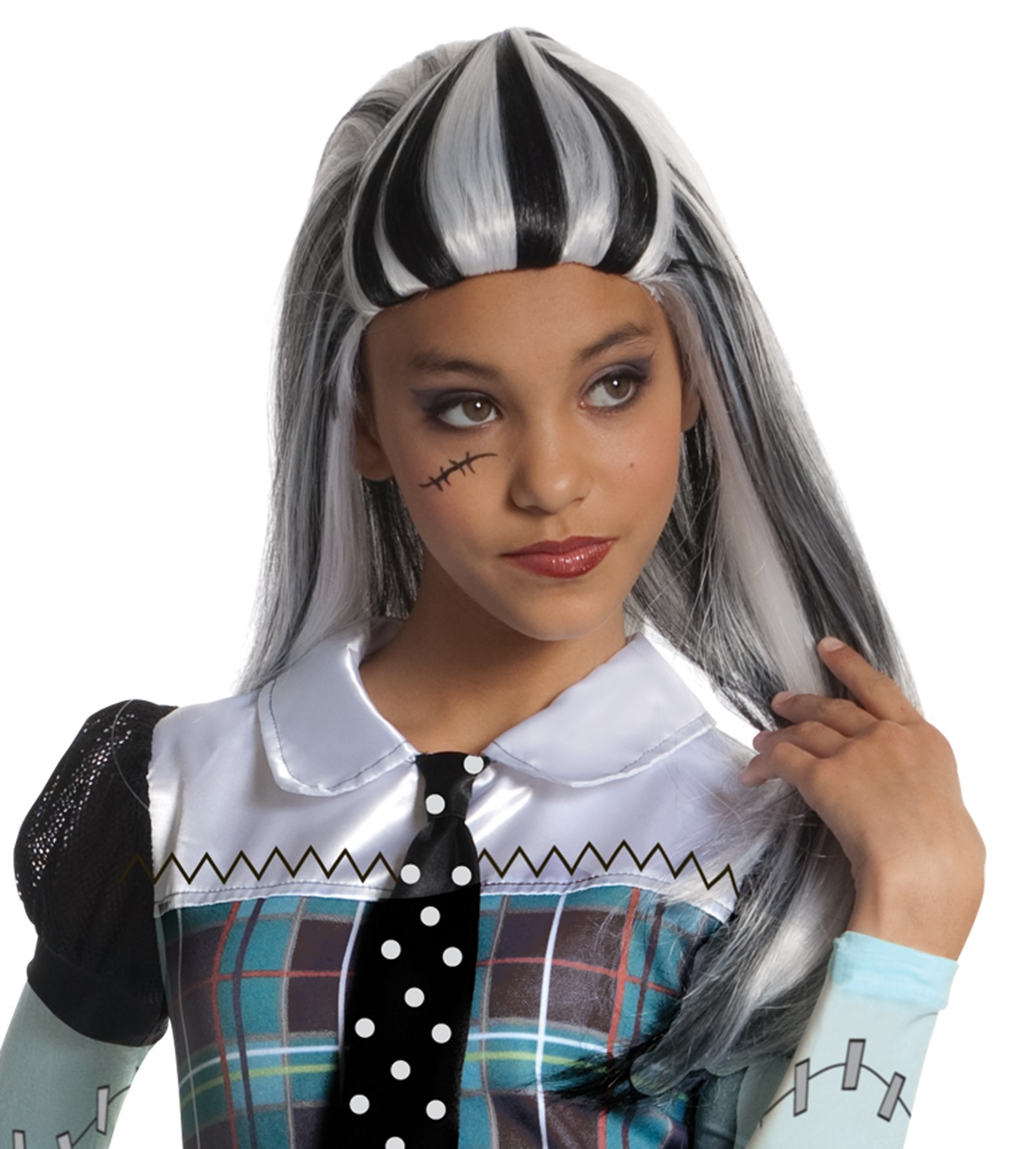 Image of Monster High - Frankie Stein Wig (Child)