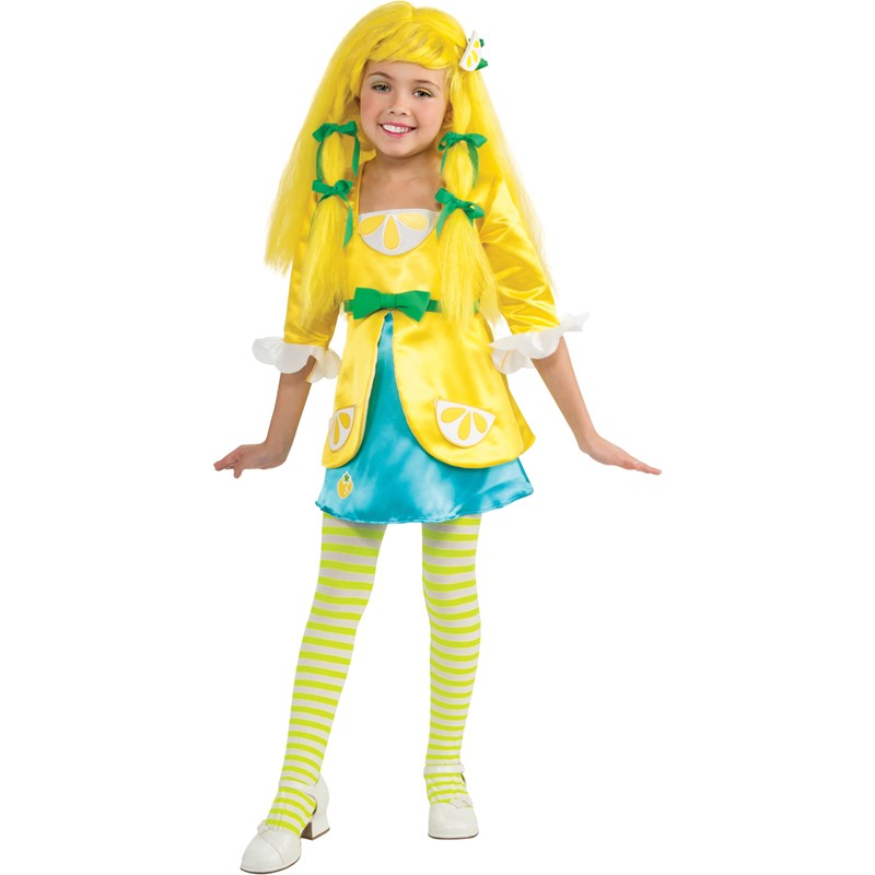 Strawberry Shortcake   Lemon Meringue Deluxe Toddler  and  Child Costume for the 2015 Costume season.