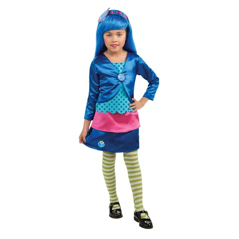 Strawberry Shortcake - Blueberry Muffin Deluxe Toddler / Child Costume
