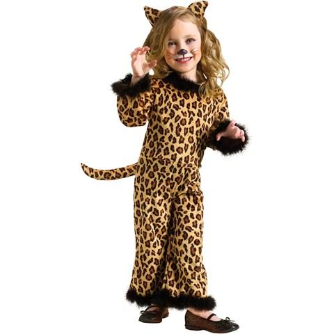 Pretty Leopard Toddler Costume