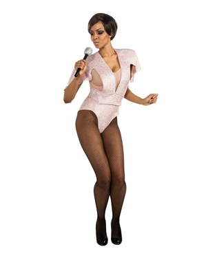 Rihanna Pink Boy Suit Adult Costume