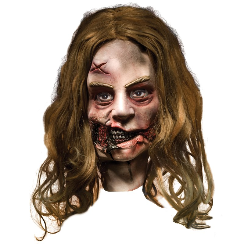 The Walking Dead   Little Girl Zombie Deluxe Mask (Adult) for the 2015 Costume season.