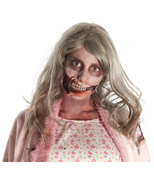 The Walking Dead - Little Girl Mouth Latex Prosthetics Adult