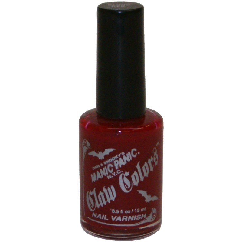 Blood Red Nail Polish for the 2015 Costume season.