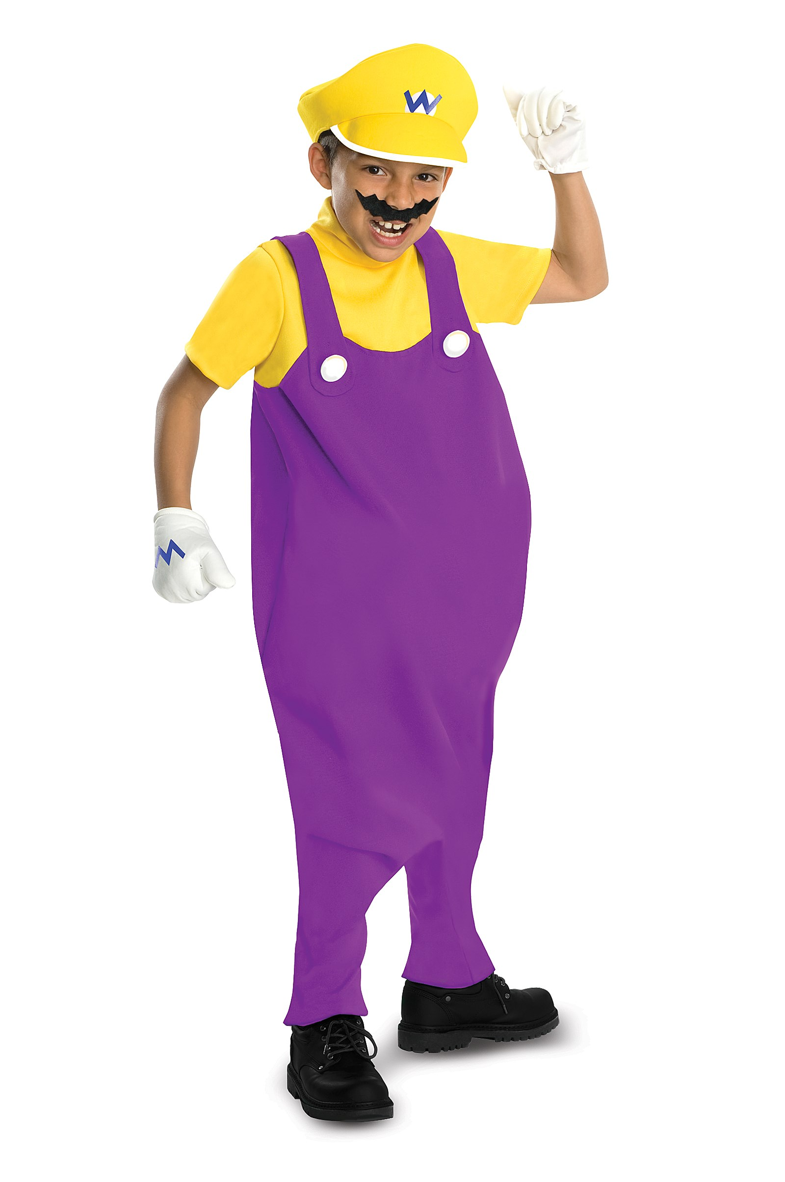 Super Mario Bros. - Wario Deluxe Toddler / Child Costume